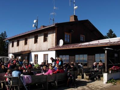 Neureuth Wanderung - die Hütte