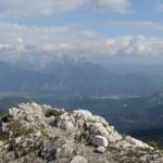 Brünnsteingipfel - Blick zum Kaiser