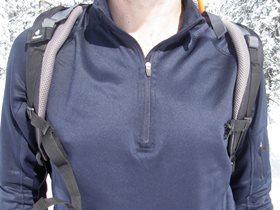 Offener Brustgurt - Träger können rutschen