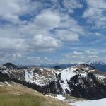 Wandberggipfel - Blick nach Osten